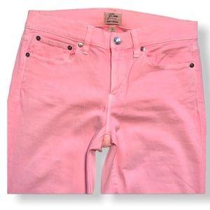 J. Crew Baby Pink Toothpick Pants Size 27